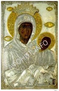 Икона Богородицы Закланная