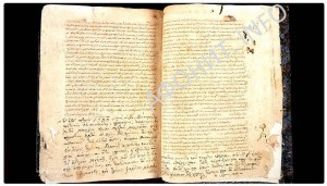 Рукописная книга XIII век