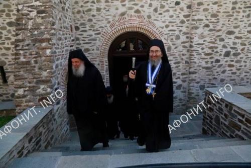 Смена Священной Эпистасии. 2019 г. Святая Гора Афон
