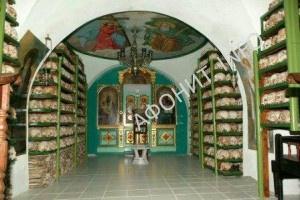 Костница Русский на Афоне Свято-Пантелеимонов монастырь