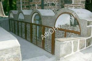 Костница в Афонском Свято-Пантелеимоновом монастыре