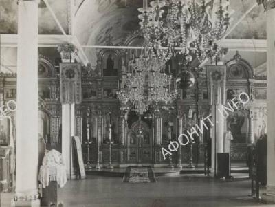 Иконостас Покровского храма Афонского Пантелеимонова монастыря