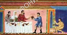 Притча о  богаче и нищем Лазаре