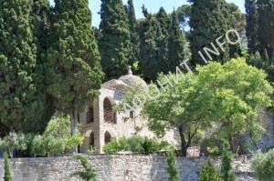 Костница Пантелеимонова монастыря на Афоне