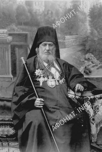 Игумен Пантелеимонова монастыря схиархимандрит Андрей (Веревкин)