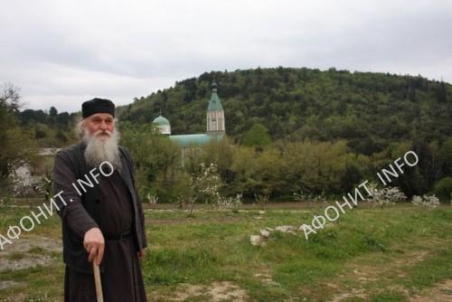 Монах Нил (Решетников) на Старом Русике. Фото Сергея Шумило