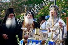 Пояс Богородицы доставили с Афона в греческую Восточную Македонию
