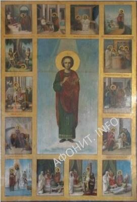 Икона св. влмч. Пантелеимона