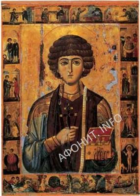 Икона великомученика Пантелеимона