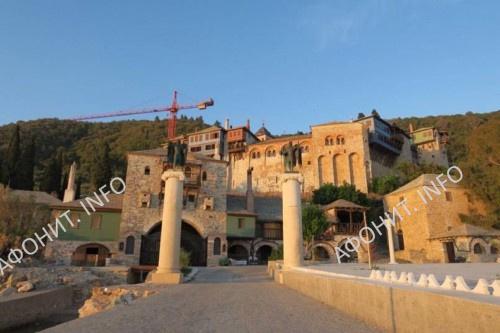 Монастырь Дохиар на Святой Горе Афон
