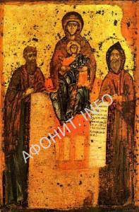 Преподобные Антоний и Феодосий Киево-Печерские