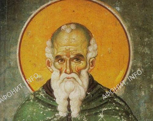 Святой преподобный Афанасий Афонский