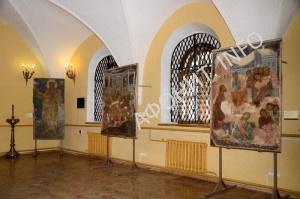 Выставка афонских фресок XVII в. в Киево-Печерской Лавре