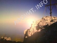 Вершина Святой Горы Афон