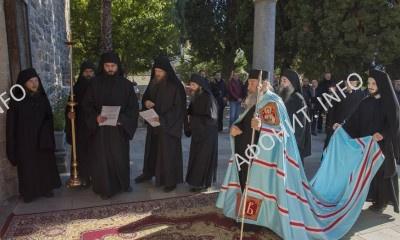 Визит Митрополита Онуфрия в Афонский Пантелеимонов монастырь