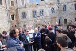 Министр образования и религий Греции Андреас Ловердос посетил Афон