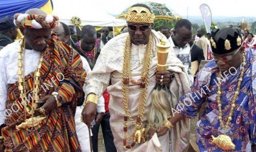 Африканский король и лидер Форума африканских монархов Чиффи Зие Жан Жерве