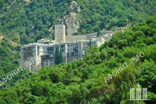 Монастырь Святого Павла. Святая гора Афон