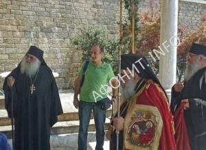 Панигир в афонском монастыре святого Павла