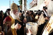 Патриарх Александрийский на Афоне