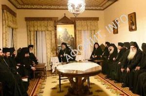Антиохийский Патриарх Иоанн на Афоне