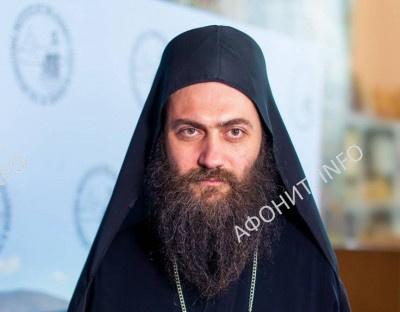 Игумен монастыря Хиландар  на Святой Горе Афон архимандрит Мефодий (Маркович)