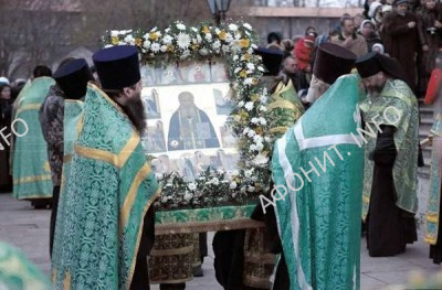 Прославление прп. Аристоклия (Амвросиева) Афонского