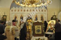 Ашукино: в Подмосковье с Афона передан Светописанный образ Божией Матери