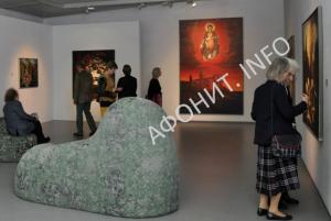 В Австрии выставка художника Эфтимиоса Варламиса, посвященная Афону