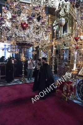 Панигир в Русском на Афоне Пантелеимоновом монастыре