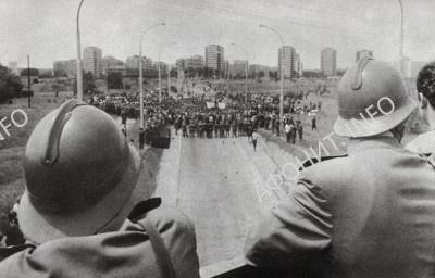 Студенческие демонстрации в Белграде в июне 1968 г.