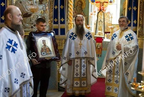 Из Америки на Афон передана икона святителя Мардария Либертивилльского