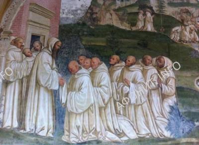 Св. Бенедикт и бенедиктинские монахи