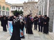 Благовещение в Пантелеимоновом монастыре на Афоне