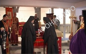 В Болгарии в г. Стара Загора поклонились мощам Игнатия Старозагорского из Афонского Свято-Пантелеимонова монастыря