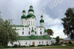 Древние храмы Чернигова Елецко-Успенский монастырь