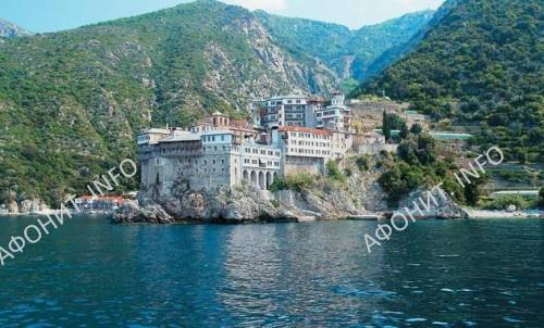 Монастырь Дионисиат. Святая Гора Афон