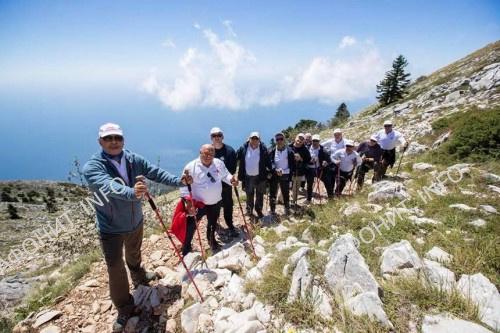 Президент Молдовы Игорь Додон совершил восхождение на Вершину Святой Горы Афон