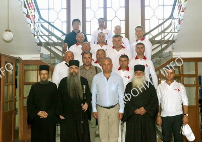 Президент Республики Молдова Игорь Додон посетил Священный Кинот Святой Горы Афон
