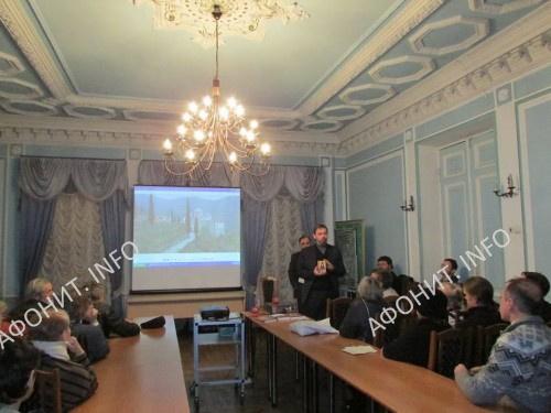 Вечер памяти прп. Паисия Величковского на день его рождения организовал Международный институт афонского наследия