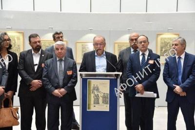 В Европарламенте провели выставку об Афоне