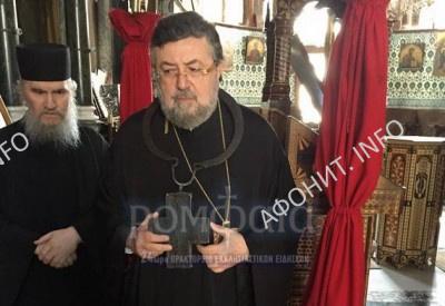 Экзарх Пафлагонии митрополит Севастийский Димитрий (Комматас) посетил Святую Гору Афон