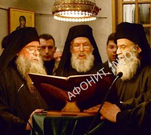 Регент афонского хора «Фомадов» иером. Фома (Микраяннанит)