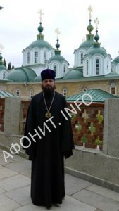 Епископ Филарет в Русском на Афоне Свято-Пантелеимоновом монастыре