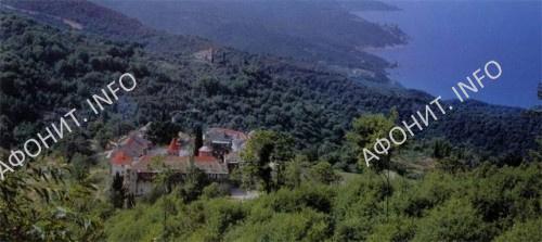 Монастырь Филофей. Святая гора Афон