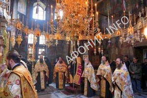 Монастырь Филофей на Афоне