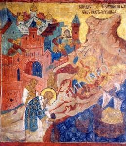Поход Аскольда на Константинополь Патриарх Фотий Чудо с Ризой Божией Матери во Влахерне