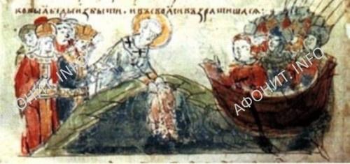 Патриарх Фотий и русское войско Аскольда у стен Константинополя. Чудо с Влахернской Ризой Богородицы, 860 год