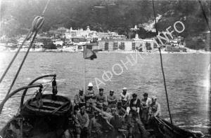 Французские войска на Афоне, 1918 г.