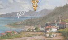 Русский Свято-Пантелеимонов монастырь на Афоне в 1840-е гг. Фреска из трапезной монастыря